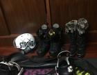 滑雪 雪靴 雪鞋 头盔 单板 饺子包