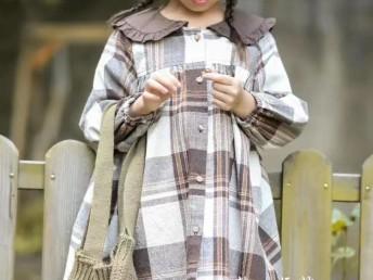 童装批发女童童装卫衣田园风
