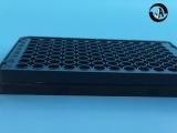 百千生物全黑96孔酶標板全黑不透明測熒光專用96孔板
