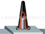 MOSS 供应优质耐高温锥形护盖 锥形橡胶塞 耐高温塞 胶塞 E