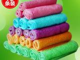 蔓妙 竹纤维洗碗巾 免洗洁精抹布 韩国不沾油双层加厚洗碗布 15