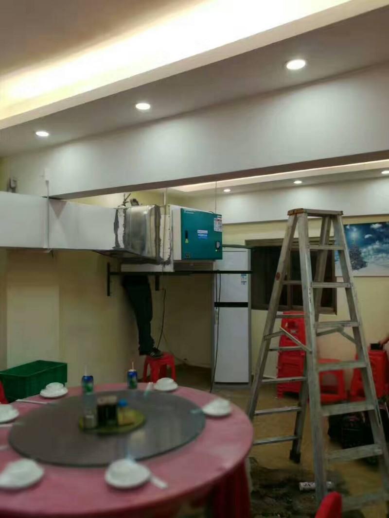 清远厨房设备制作安装工程-油烟罩-油烟机清洗维护及维修