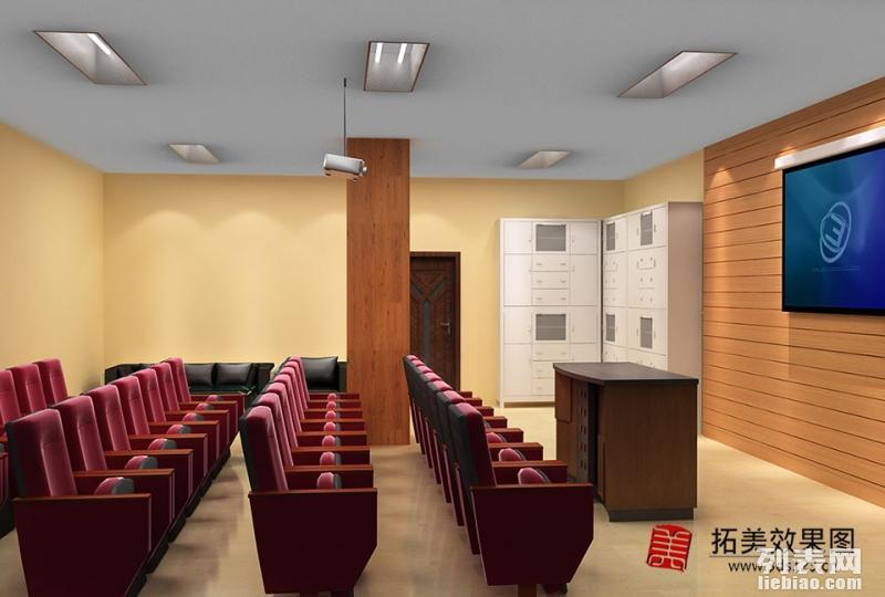 扬州 镇江做效果图制作 会议室培训室效果图 办公接待室效果图