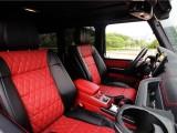 奔驰G63升级后排太空椅全车内饰改色真皮包覆个性化定制
