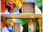 墙绘25元起,纯手绘承接墙体彩绘,幼儿园彩绘,大型壁画