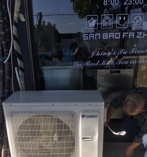 格力空调99新 16年格力 格力吸顶空调