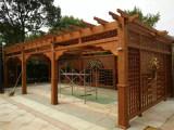 福州防腐木廊架制作福建质量好的廊架批销