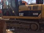 钦州二手卡特挖掘机 卡特320D出售了
