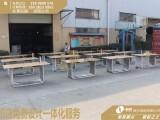 中岛式的3.0华为体验桌手机摆放展台试用区的材质与制作工艺