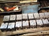 赫克里斯磨床巴氏合金侧瓦底瓦铸造加工