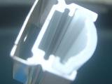 供应灯条配件 带PC罩U型铝槽 LED硬灯条铝槽 铝槽厂家