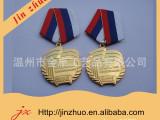 厂家定制多种金属电镀奖牌,带丝带勋章奖牌