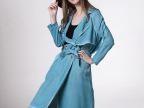 2015秋冬欧美风强势来袭秀场专柜同步意大利做旧工艺天丝女式大衣