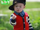 秋款韩版卡通童装婴儿全棉男童开衫外套宝宝针织衫长袖儿童毛衣