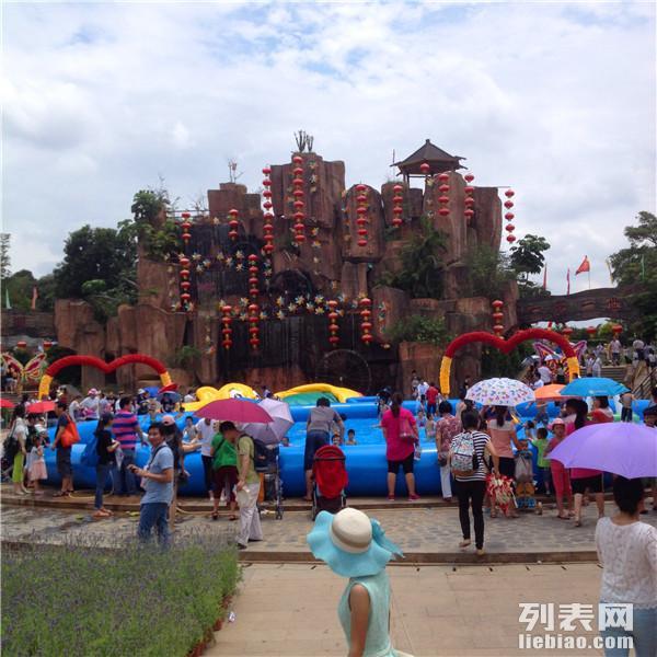 东莞农家乐松山湖经典旅游建议行程团体半天拓展半天休闲较受欢迎