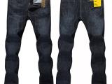 2014夏季薄款新品牛仔裤 韩版修身男士超薄牛仔裤男长裤