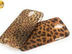 Samsung三星手机壳s4 豹纹手机壳 水贴uv光油加工 手机壳加工