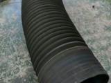河北 耐磨橡胶伸缩管 橡胶波纹伸缩风管 橡胶防尘伸缩管