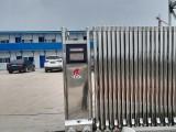 捷鷹科技為眉山項目部安裝電動門伸縮門