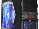 爆款红化包边游戏机箱 全网最低价 高端台式电脑机箱电源工厂批发