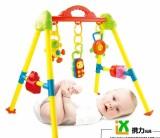 新生婴儿玩具宝宝健身架灯光音乐架 儿童益