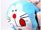 暖手抱枕手捂日本卡通 机器猫抱枕靠垫 大号机器猫公仔 午睡枕头