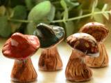 田园乡村工艺品家居摆件 我的后花园装饰陶瓷小蘑菇拍照 道具