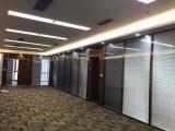 辦公玻璃隔斷 高間隔隔斷玻璃門 隔斷公司雙玻百葉隔