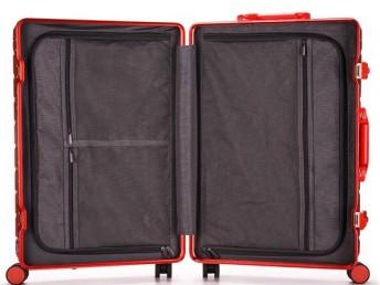 上海方振箱包厂家直销时尚潮流PC铝框拉杆箱行李箱登机箱托运箱
