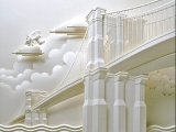 辽宁雕塑 创意泡沫雕塑 人物景观树脂玻璃钢雕塑