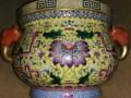 元青花瓷器珐琅彩实物到美国苏富比拍卖