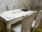 欧式餐桌,及四个欧式椅子