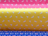 纯棉布料 床品面料活性印花斜纹棉布服装布