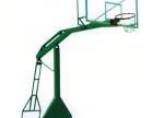 颖上销售休闲篮球架 移动篮球架更换篮板 承接PU篮球场施工