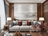 龙湖听蓝湾别墅装修设计 162平 新中式设计