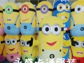 厂家直销全新神偷奶爸系列小黄人卡通人偶表演服装