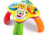 费雪fisherprice宝宝游戏音乐桌学习桌婴儿童益智力早教玩