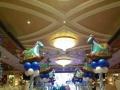 七夕求婚气球布置,婚房气球布置,展会气球布置,生日派对气