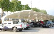 鹤壁汽车遮阳棚——供应使用安全的汽车遮阳棚