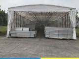 长沙定制活动推拉蓬大型仓库伸缩帐篷大排档夜宵移动遮阳棚