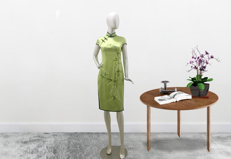 中卫刺绣定做哪个好A手工旗袍定制的三大优点