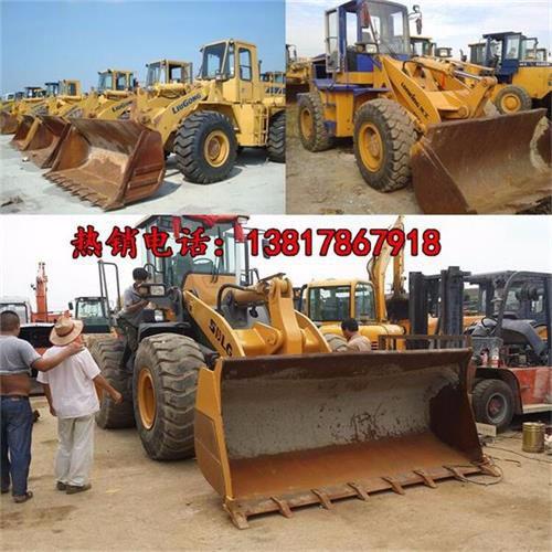 阿勒泰二手装载机地址/大型工程车市场