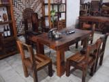老船木茶桌椅組合批發室內外功夫茶臺茶實木簡約中式茶道泡茶桌
