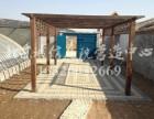 北京花园设计施工 别墅庭院绿化 制作防腐木花架亭子栅栏公司