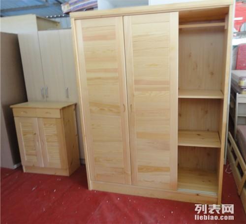 厂家生产销售定制松木子母床双层床实木单人床双人床衣柜