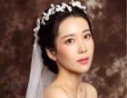 影楼化妆师新娘跟妆,妆面自然
