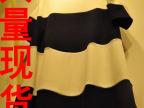 韩国代购夏装新款拼接短袖a字连衣裙女宽松显瘦露肩连衣裙子
