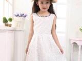 童装一件代发 女童2014夏季新款 韩版欧根纱背心裙百搭公主连衣