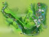 旅游手繪地圖景區手繪地圖電子VR景區地圖