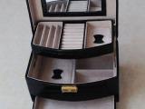 皮盒厂家专业生产各式皮制化妆盒,高档PU首饰盒,连体化妆盒